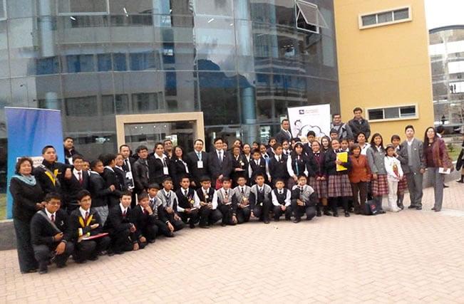 Fueron 42 colegios participantes
