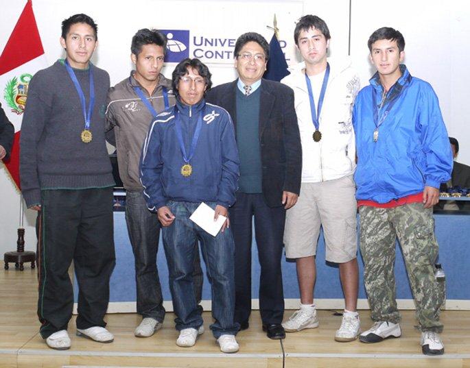 Premiación de los Juegos Florales
