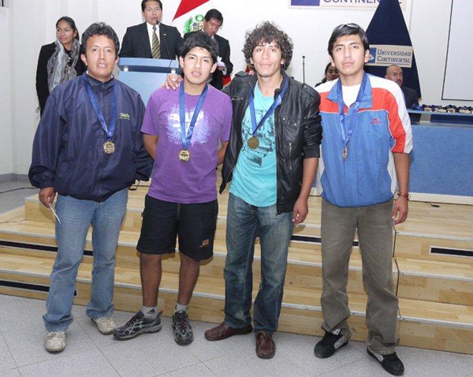 Campeones en Basquet Varones - Administración