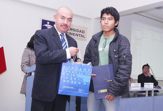 Percy Díaz segundo puesto en cómputo general