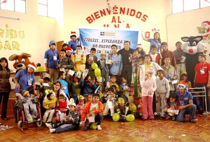 UCCI lleva alegría a niños del Albergue de Coto Coto