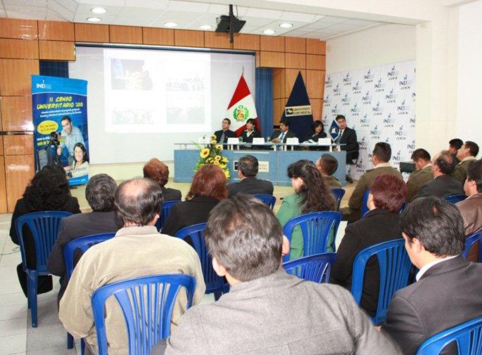 Presentan resultados del II Censo Universitario 2010 UCCI