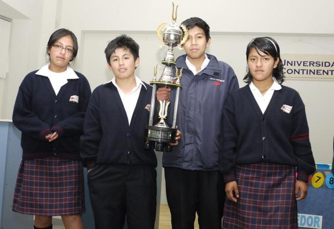 Colegio Saco Oliveros ganador del Torneo Escolar