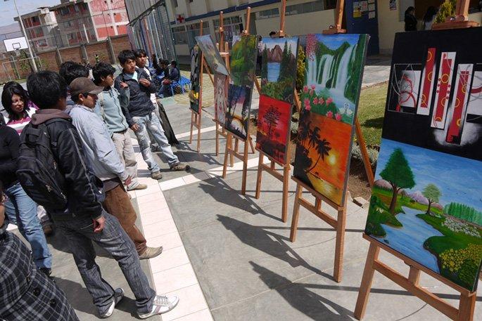 Exposición Artística en Continental