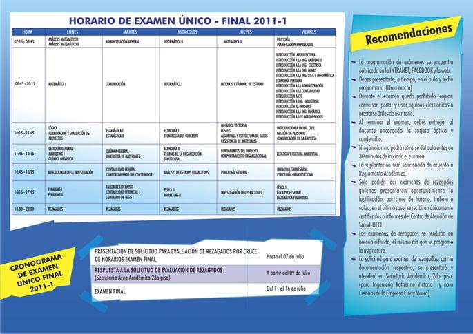 Prepárate para los Exámenes