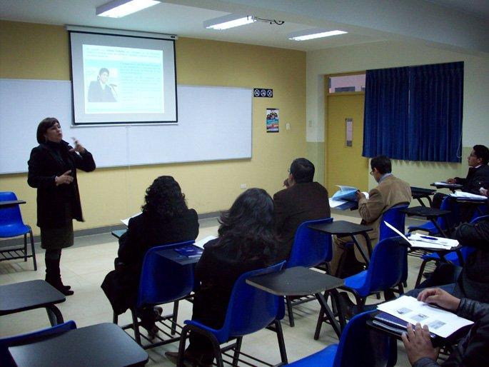 Se realiza Taller de Inducción 2011 – II para docentes nuevos