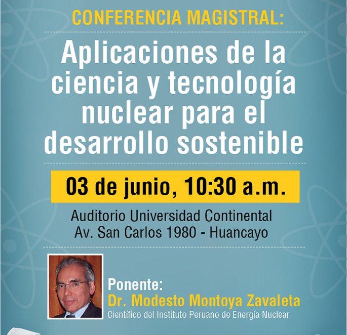conferencia magistral aplicaciones ciencia