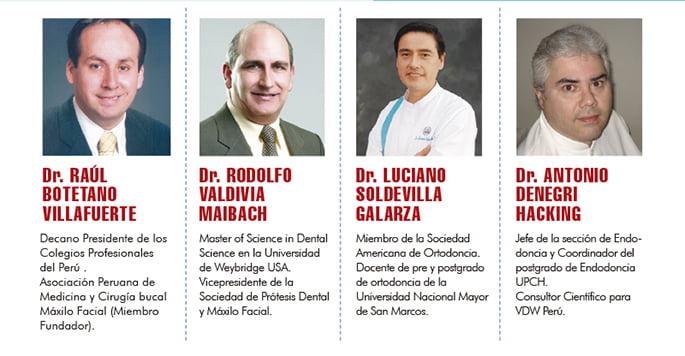 primera jornada odontologica continental ponentes
