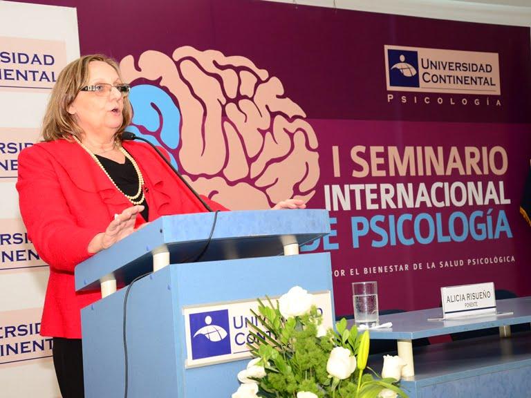 Ponencias del I Seminario Internacional de Psicología