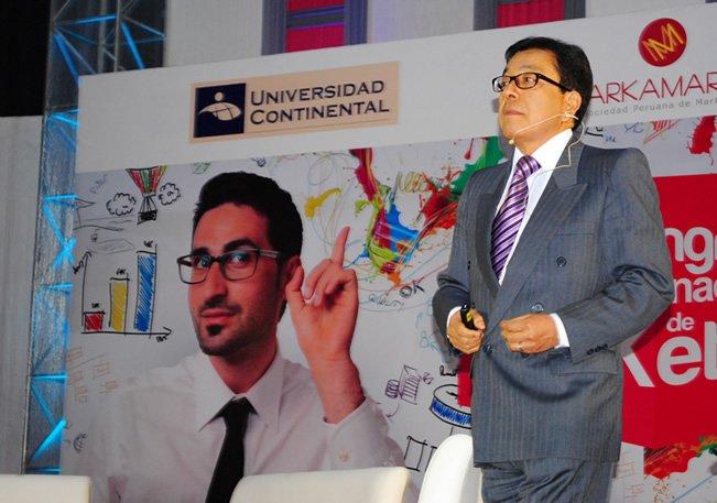 Freddy Alvarado en IV Congreso Internacional de Marketing