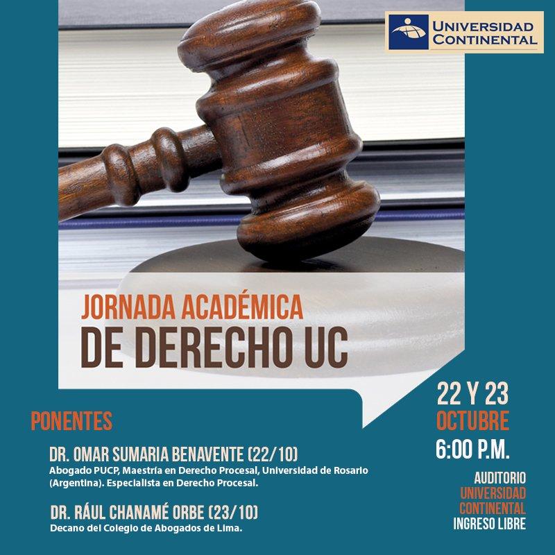 Jornada de Derecho UC 22 y 23 de Octubre - 2013