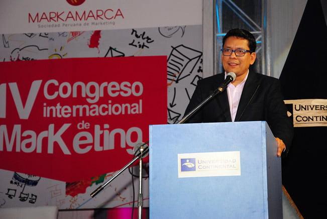 MIlton Vela en IV Congreso Internacional de Marketing 2013