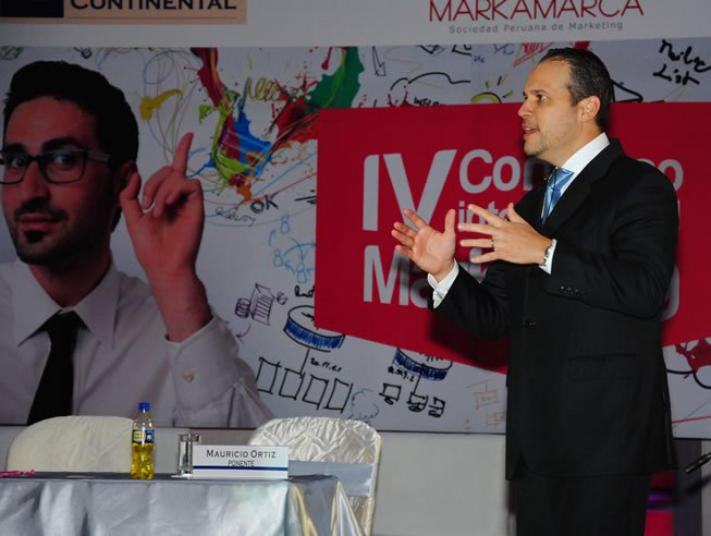 Mauricio Ortiz en IV Congreso de Marketing