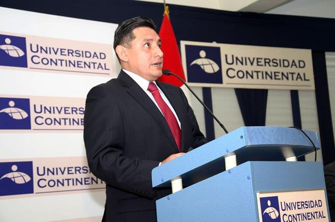 Omar Sumaria explica sobre actividad probatoria en Universidad Continental