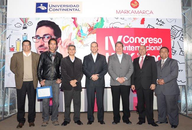Conferencistas del IV Congreso Internacional de Marketing