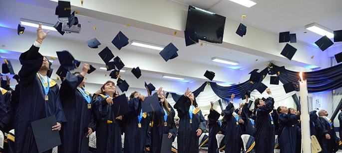 Ceremonia de graduación noviembre 2013