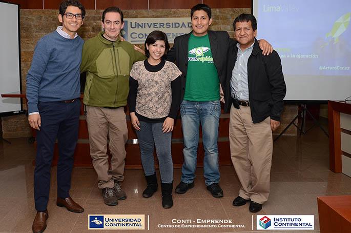 Representantes de Lima Valley hablan de Startups