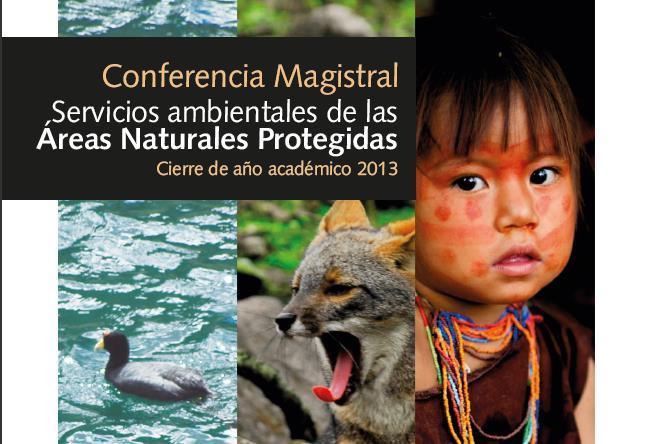 conferencia magistral servicios ambientales araeas naturales