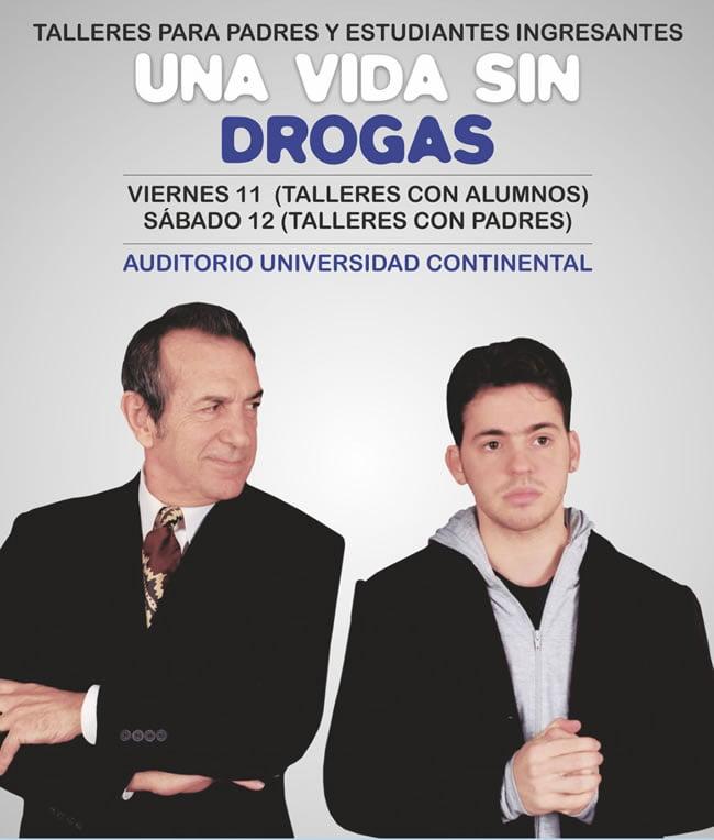 Conferencia Una vida sin drogas