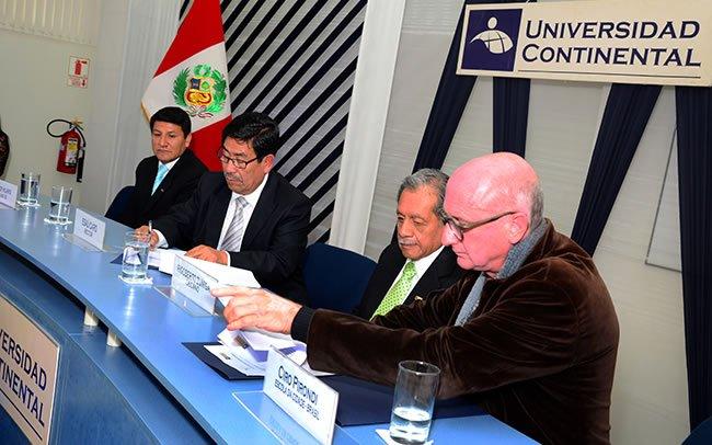 Escola da Cidade de Brasil y Universidad Continental firman convenio