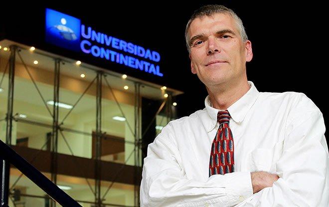 Investigador de Universidad de Colorado Boulder visita Universidad Continental