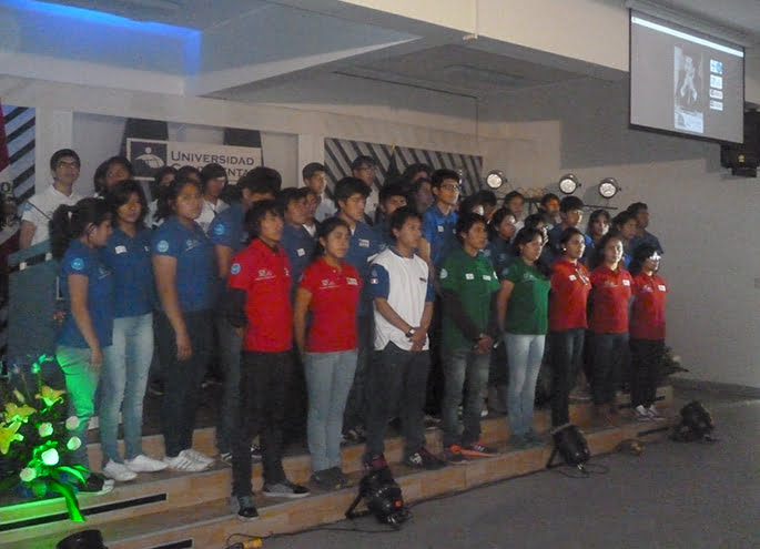 Monitores, coordinadores y mentores fueron presentados