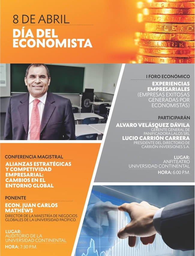 actividades del dia del economista