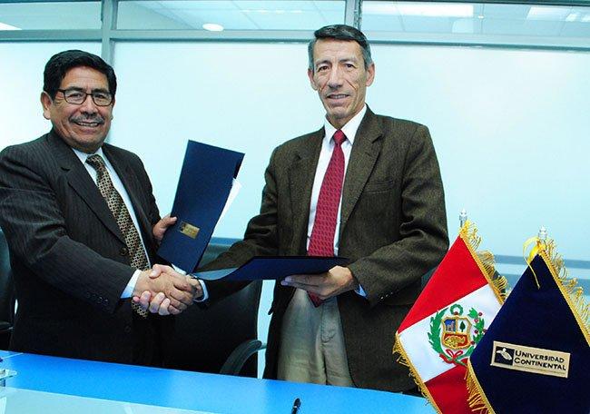 Convenio entre la Universidad Continental y el Instituto Geofísico del Perú