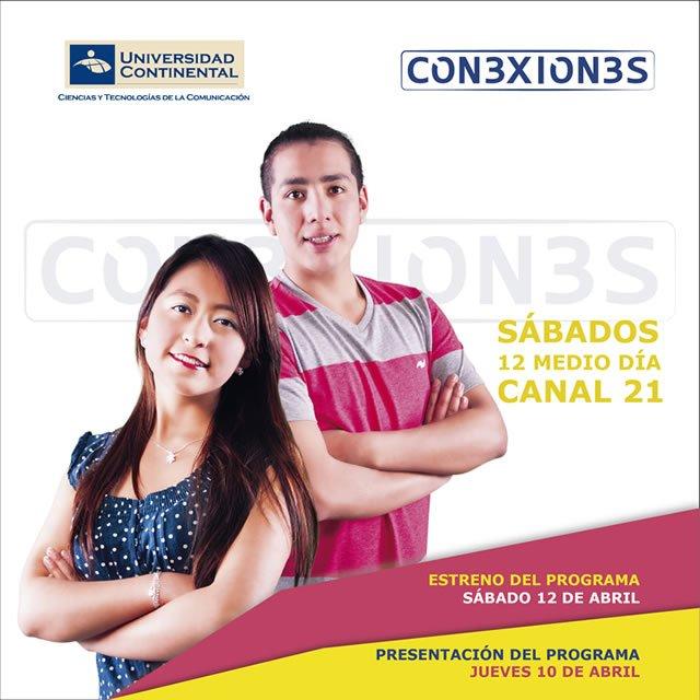 Alumnos de Comunicación de la Universidad Continental estrenan novedoso programa de televisión