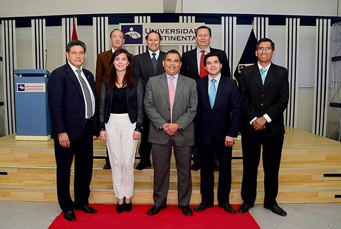 Juan Carlos Mathews inicio seminario en Universidad Continental