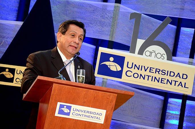Presidente ejecutivo Fernando Barrios Ipenza resalto el espiritu de innovacion de la UC