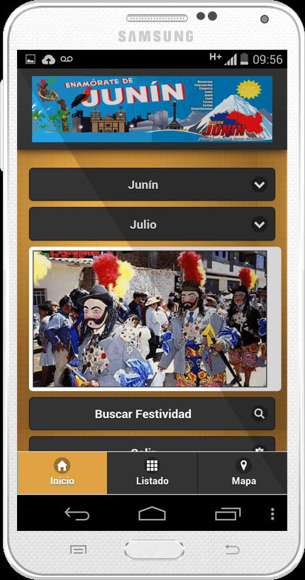 Estudiantes de la UC desarrollan aplicativo móvil para conocer festividades de Junín