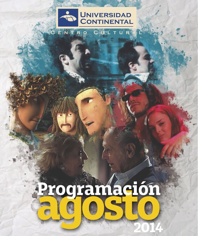 Cine argentino, club de lectura y anime en el Centro Cultural de la U. Continental