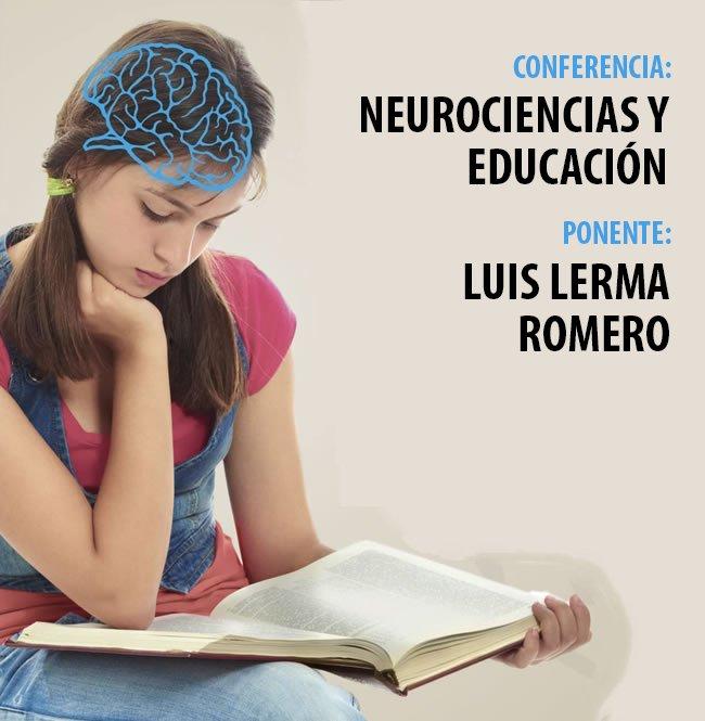 """29 de agosto: Conferencia """"Neurociencias y educación"""" en la Universidad Continental"""