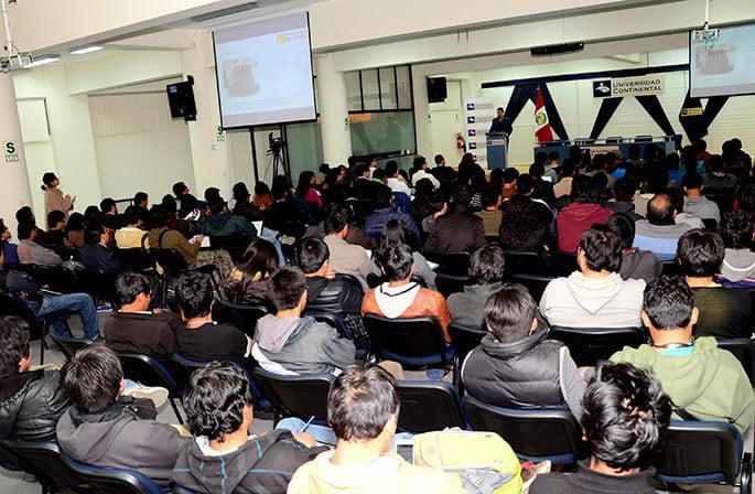 Estudiantes de diferentes universidades del Perú participaron del evento