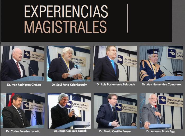 Experiencias Magistrales Volumen 1