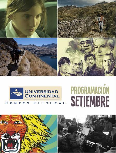 Setiembre cultural en Universidad Continental