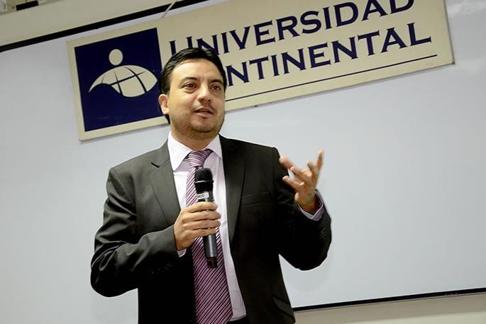 Mario Badillo , gerente general de Novatech