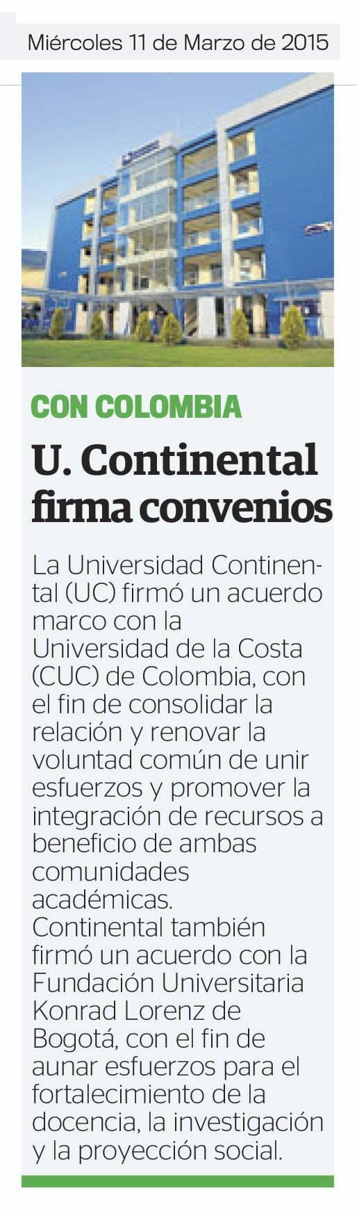 11MAR - UC FIRMA CONVENIOS