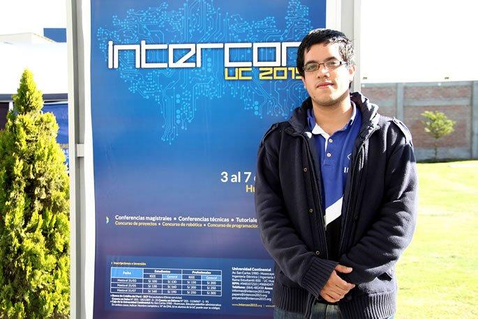 Expositor paraguayo expuso proyecto en INTERCON 2015