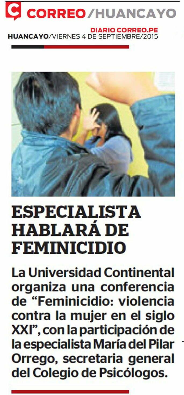 04 SETCORREO-  FEMINICIDIO CONFERENCIA