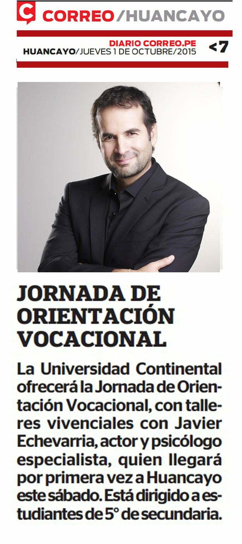 01 OCT CORREO-  JORNADA DE ORIENTACION VOCACIONAL