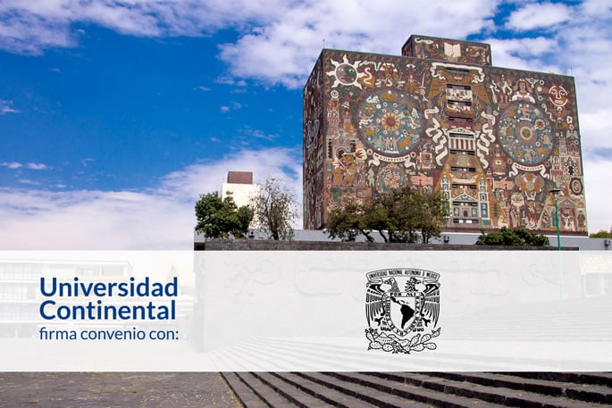 Firma de convenio con la UNAM