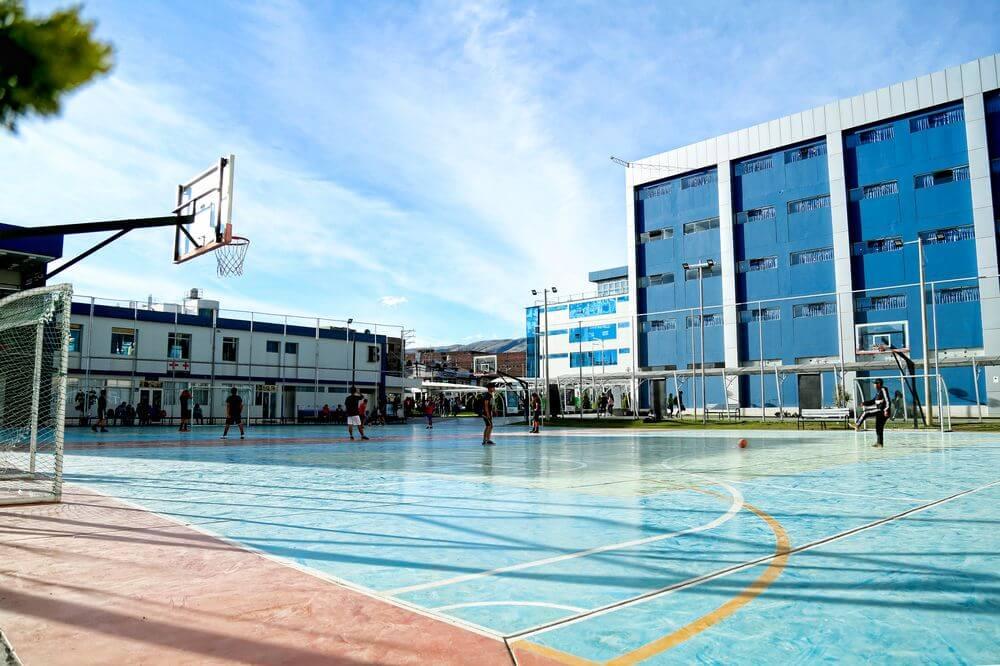 Campos de entrenamiento de actividades deportivas UC, espacio acondicionado creado para que el estudiante desarrolle sus habilidades ligadas al deporte