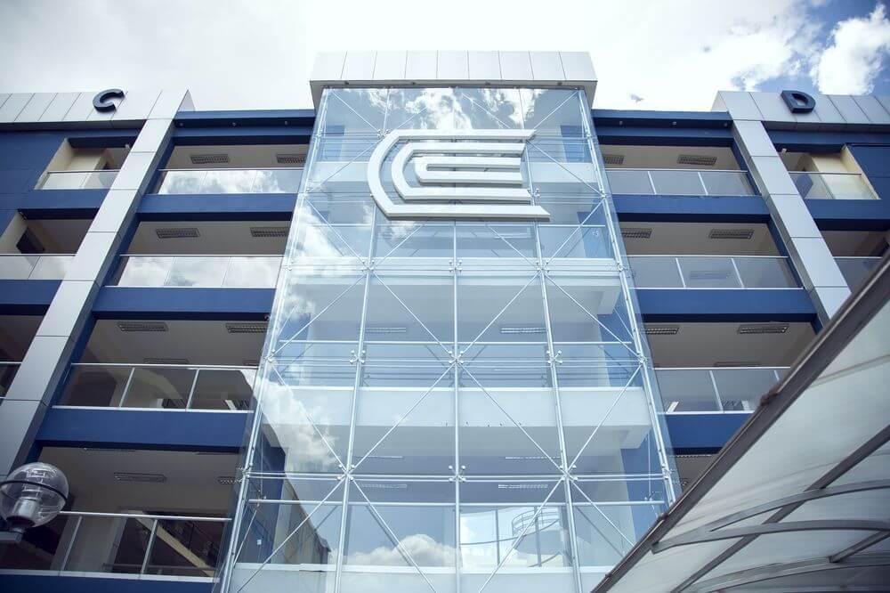 Edificio principal de nuestra UC, une los pabellones C y D