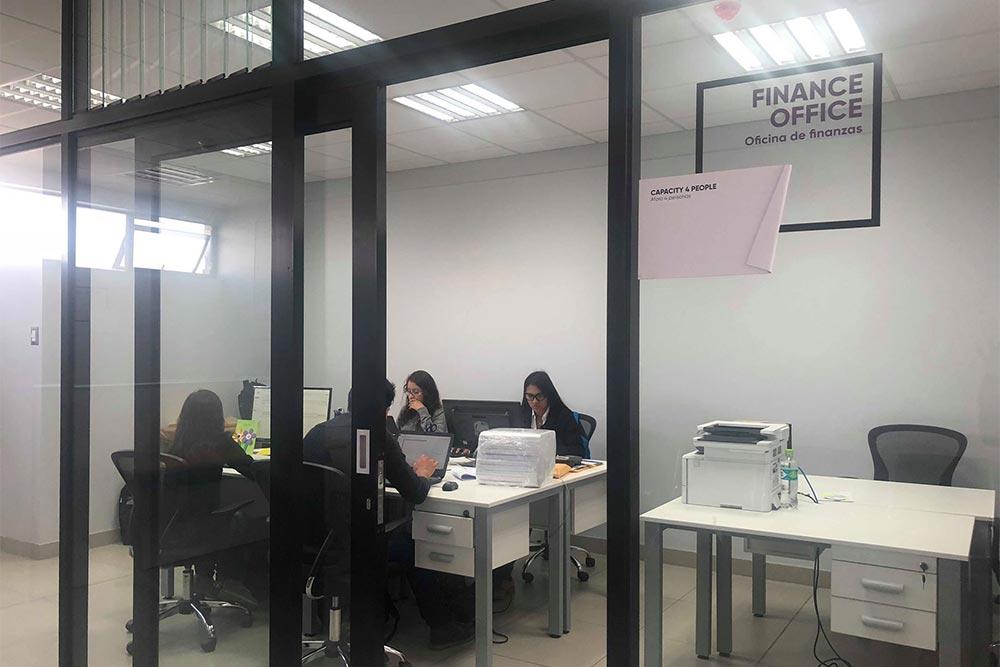Oficina de finanzas