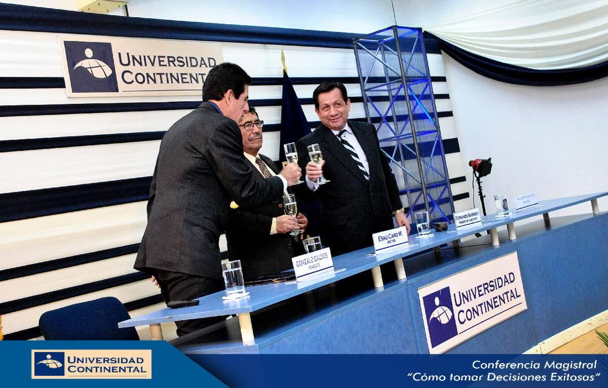 Conferencia - Toma de decisiones Gonzalo Galdos