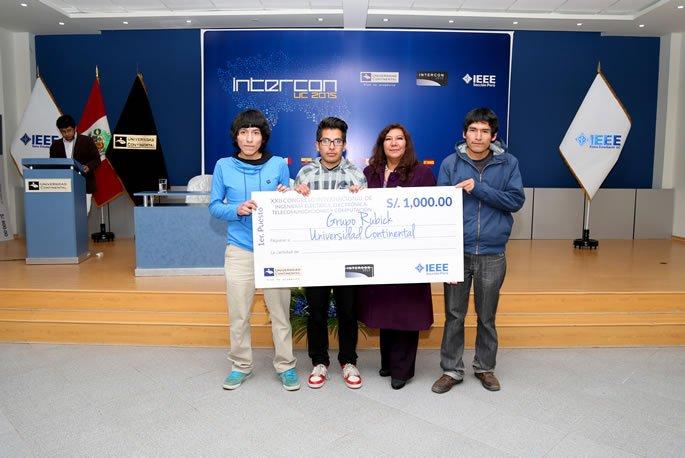Estudiantes de In. Sistemas UC, ganadores programación Intercon 2015