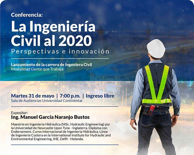La Ingeniería Civil al 2020. Perspectivas e innovación