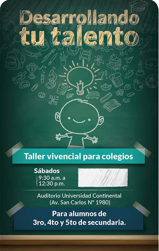 Taller Vivencial para Colegios